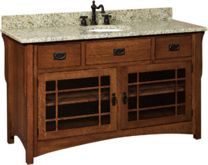 Landmark Large Single Sink Cabinet