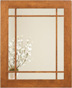 Landmark Wood Framed Mirror