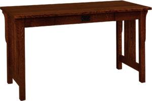 Landmark Hardwood Pencil Drawer Desk