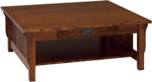 Landmark Hardwood Square Coffee Table
