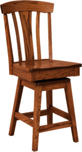 Lexington Hardwood Swivel Bar Stool