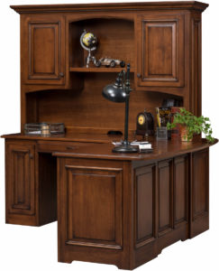 Liberty Classic Corner Desk and Hutch