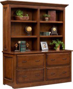Liberty Classic Double File Cabinet and Hutch