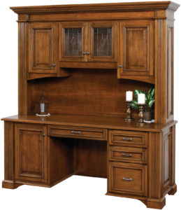 Lincoln Credenza with Hutch