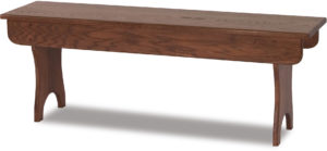 Locker Wood Bench