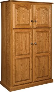 Lux Traditional Four Door Pantry