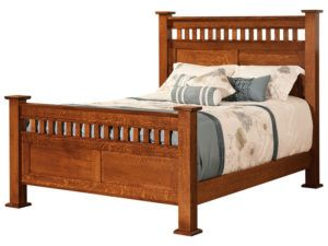 Lynbrook Hardwood Bed