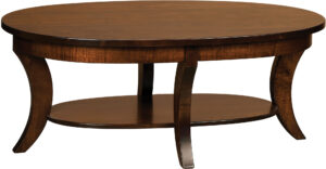 Madison Collection Oval Coffee Table