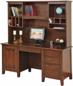Manhattan Credenza Base with Hutch
