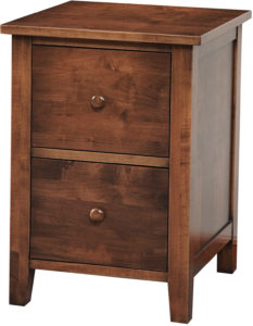 Manhattan Two Drawer File Cabinet