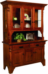 Mattina 3-Door Hutch