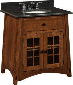 McCoy Narrow Single Free-Standing Sink