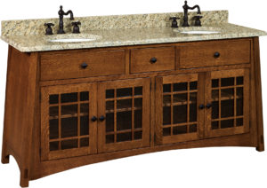 McCoy Wide Double Free-Standing Sink