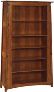 McCoy Amish Open Bookcase