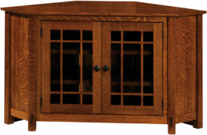 McCoy Two Door TV Corner Cabinet
