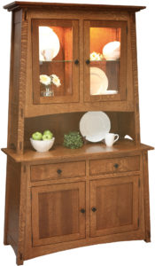 McCoy Two Drawer Hutch