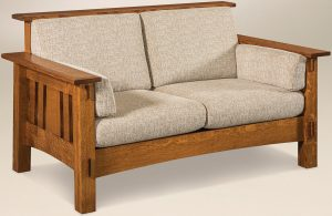 McCoy Hardwood Loveseat