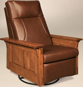 McCoy Rocker Recliner Swivel Chair