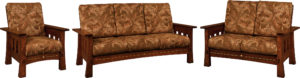 Mesa Three Piece Living Room Set