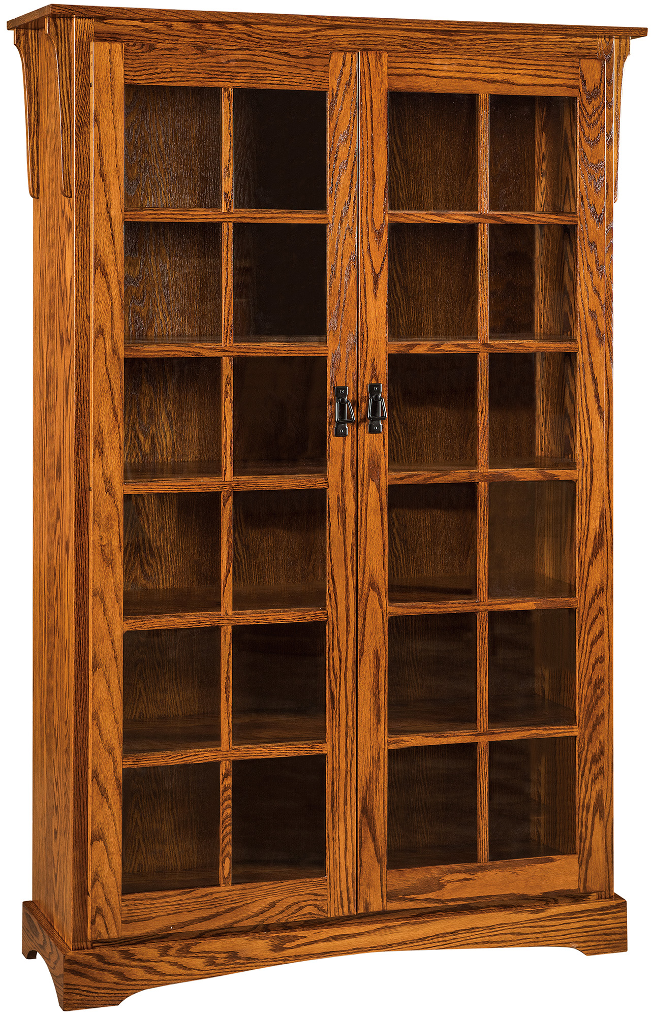 bookcase two open painted wooden yellow low bookcases shelf mahogany