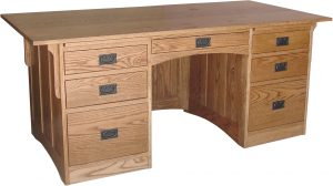 Mission Heirloom Executive Desk