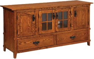 Mission Exposed Tenon TV Cabinet