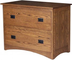 Mission Two Drawer Lateral File Cabinet