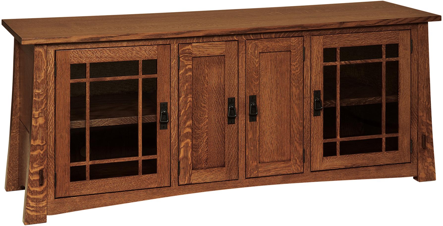 Modesto Tall Tv Cabinet Custom Amish Modesto Tall Tv Stands