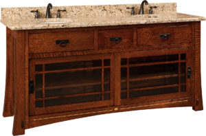 Morgan Double Sink Cabinet