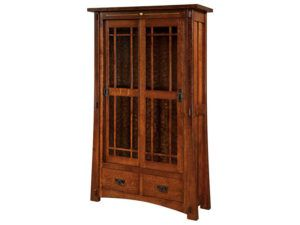 Morgan Hardwood Bookcase