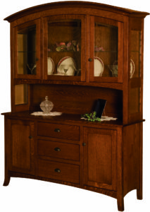 New Century Mission-Style Hutch