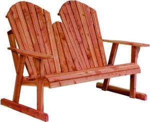 Adirondack New Style Loveseat Bench