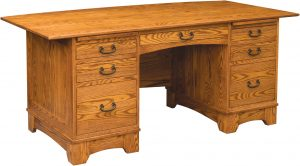 Noble Mission Amish Executive Desk