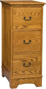 Noble Mission Three Drawer File Cabinet