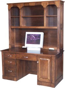 Northport PC Desk with Hutch