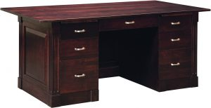 Northport Executive Paneled Desk
