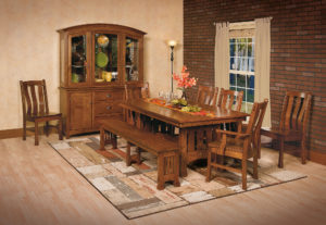 Olde Century Mission Dining Room Set