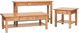 Open Mission Occasional Table Set