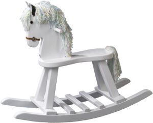 Classic Painted Rocking Horse