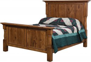 Palisade Hardwood Bed