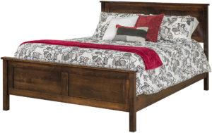 Plain Shaker Panel Bed