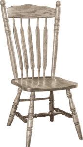 Post Hardwood Paddle Chair