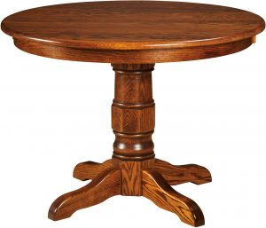 Preston Single Pedestal Dining Table