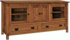 Rio Mission Four Door TV Stand