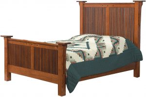 Royal Mission Hardwood Bed