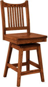 Royal Mission Hardwood Swivel Bar Stool