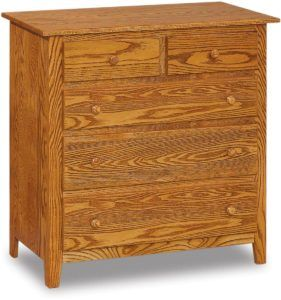 Shaker Five Drawer Child's Chest