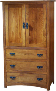 Shaker Two Door Armoire