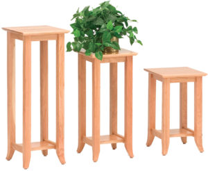 Solid Wood Amish Crafted Shaker Hill Plant Stands