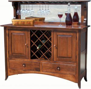 54 inch Shaker Hill Wine Buffet